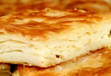Photo of البرك بالجبنة .. من المقبلات التركية